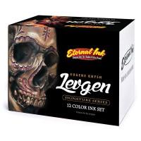 Набор тату красок Eternal Levgen Signature Series 12 цветов