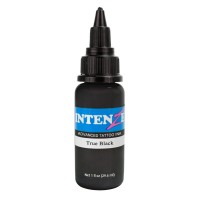 Краска для тату Intenze - True Black 1oz