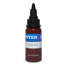Краска для тату Intenze - Dark Red 1/2oz 15ml
