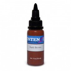 Краска для тату Intenze - Dark Brown 1/2oz 15ml