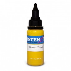 Краска для тату Intenze - Banana Cream 1/2oz 15ml
