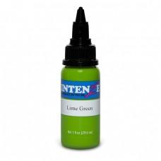 Краска для тату Intenze - Lime Green 1/2oz 15ml