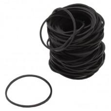 Чёрные бандажные резинки
