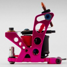 Тату машинка Fallen King Irons Mirrored - pink