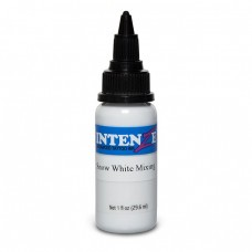 Краска для тату Intenze - Snow White Mixing 1/2oz 15ml