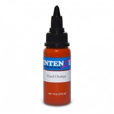 Краска для тату Intenze - Hard Orange 1/2oz 15ml