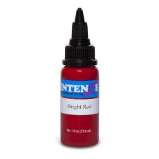 Краска для тату Intenze - Bright Red 1/2oz 15ml