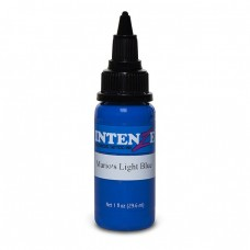 Краска для тату Intenze - Mario's Light Blue 1/2oz 15ml