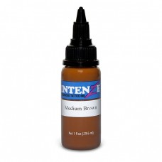 Краска для тату Intenze - Medium Brown 1/2oz 15ml
