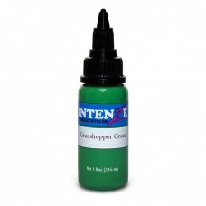 Краска для тату Intenze - Grasshopper Green 1/2oz 15ml