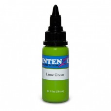 Краска для тату Intenze - Lime Green 1/2oz 15ml